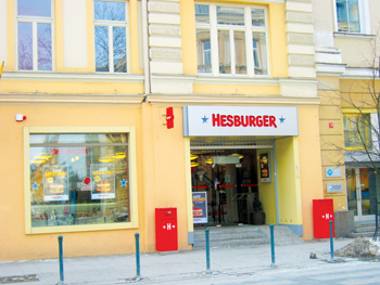 Hesburger is a prominent fast food chain in Finland and the Baltic countries