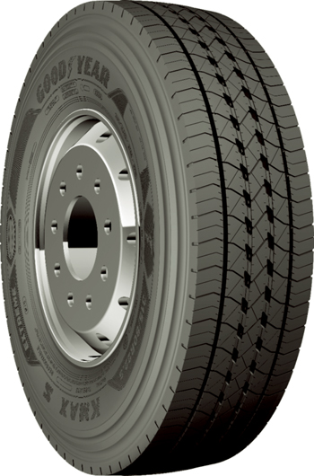Goodyear's KMax Extreme tyre: engineered for use in extreme hot climatic conditions