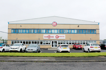 Monitor Coatings' state-of-the-art service centre