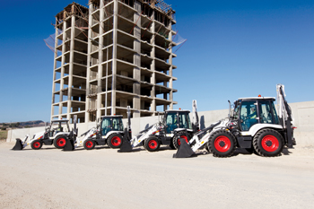 Bobcat backhoe loader: new models