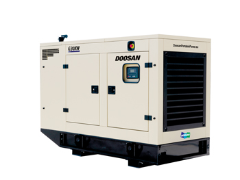 DPP 20-60 kVA generator for the MEA market