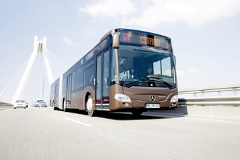 Daimler, last May won an order from Riyadh for 600 Mercedes-Benz Citaro buses