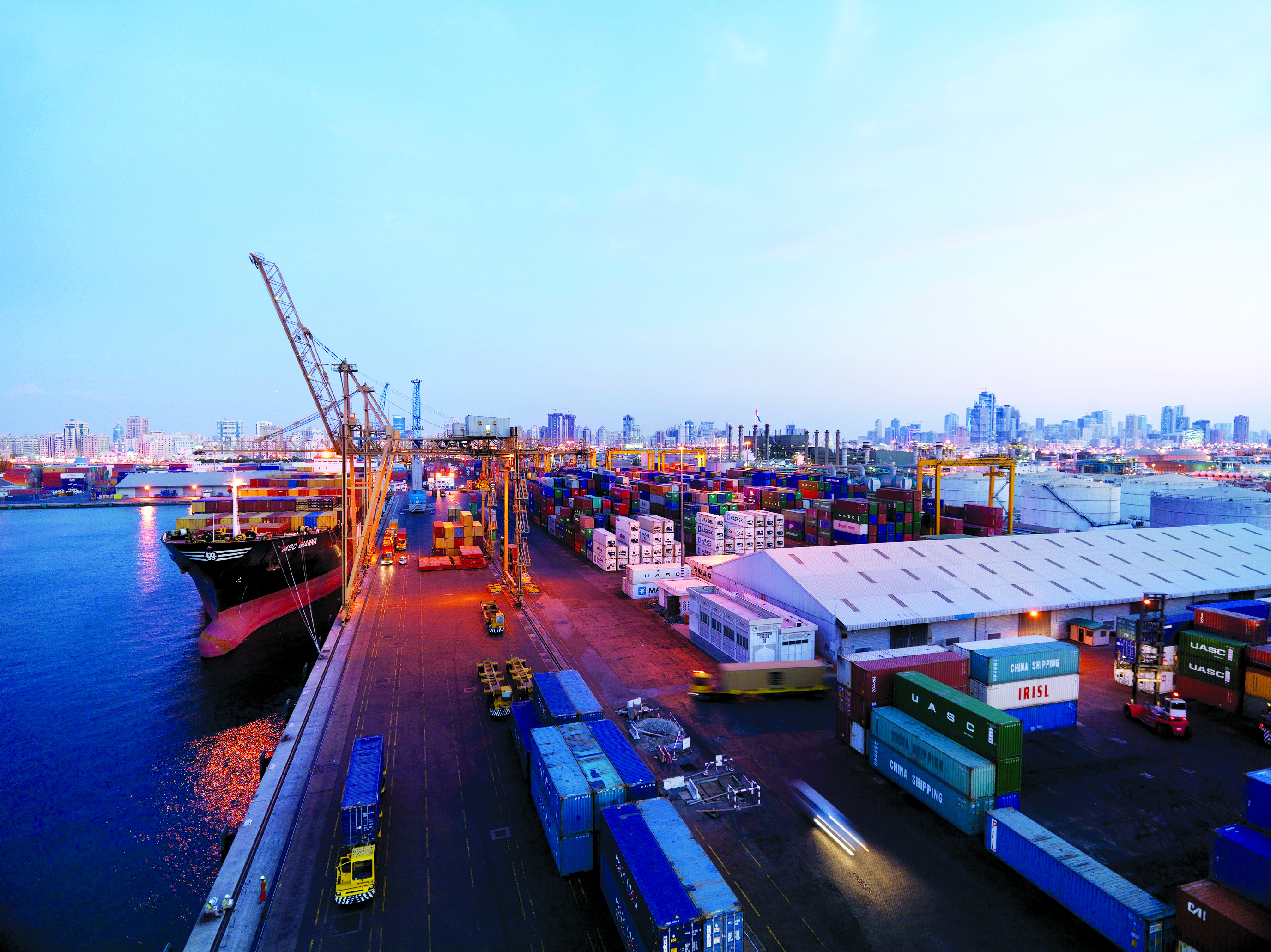 Gulftainer's Sharjah Container Terminal (SCT)