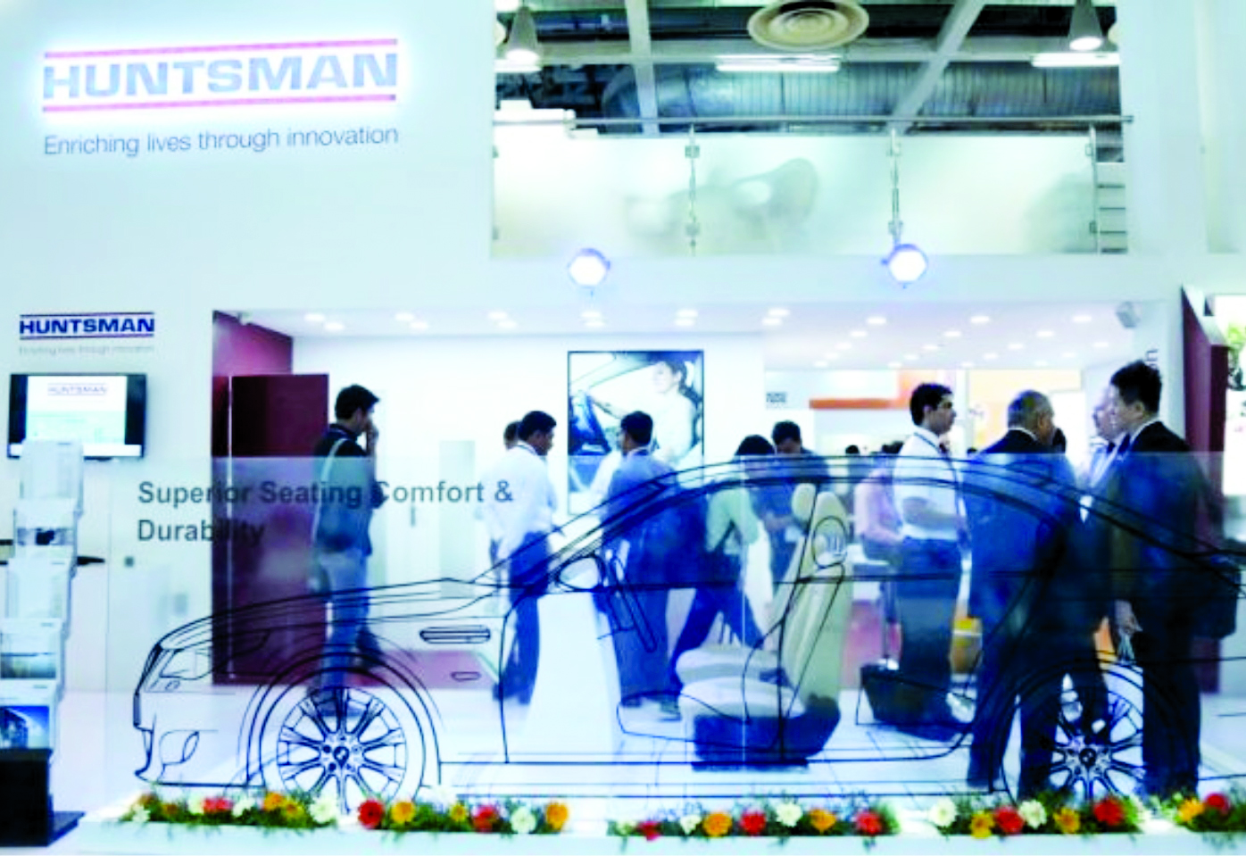 Huntsman has delivered strong growth in the Middle East region