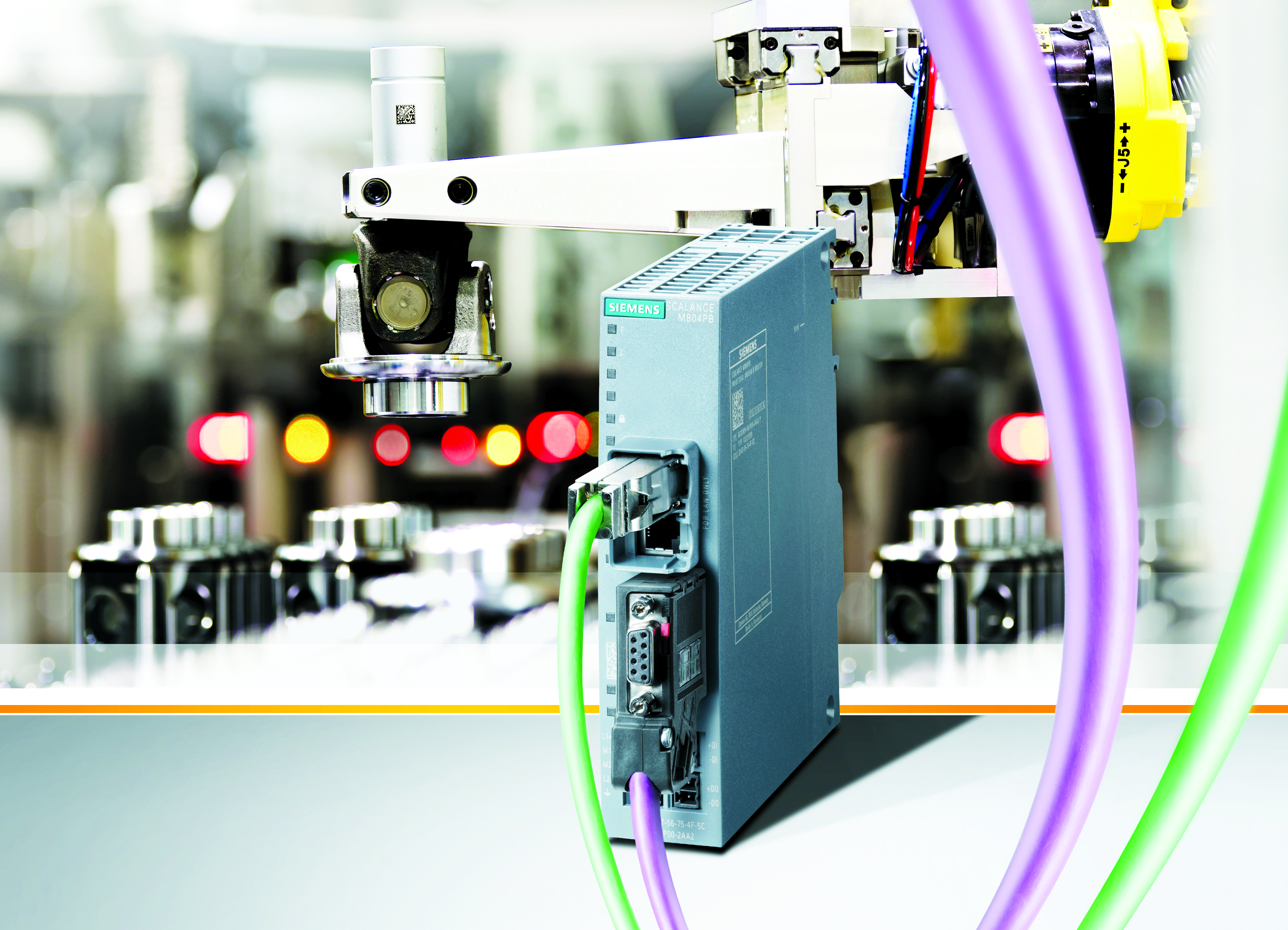 Siemens is extending its portfolio of industrial routers with the Scalance M804PB