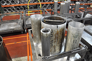 Extensive testing is carried before the selection of corrosion resistant plastic
