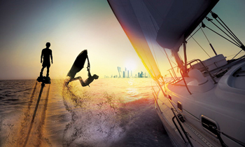 Abu Dhabi International Boat Show from October 17 to 20 at Adnec, Abu Dhabi, UAE