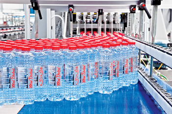 Swisslog will deliver a $21 million fully automated storage solution for the UAE's bottled-water com