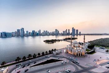 A general view of Sharjah