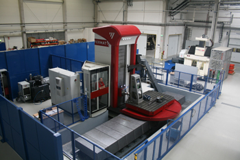New invesments: CNC horizontal boring machine and CNC 5 axis milling machine