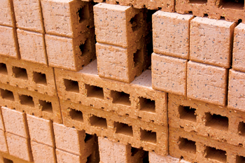 Traditional bricks are being replaced with a variety of green building material