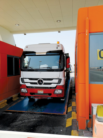 The new pit-mounted weighbridges