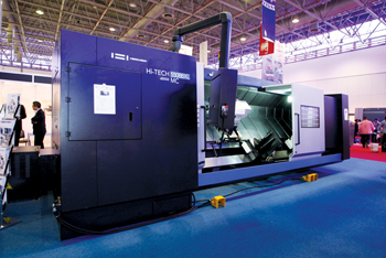 Euro Gulf will be exhibiting Hwacheon machinery at SteelFab 2019