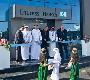 Endress+Hauser inaugurates the new calibration and training centre in Jubail