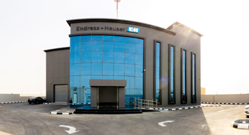 Endress+Hauser calibration and training centre in Jubail, Saudi Arabia