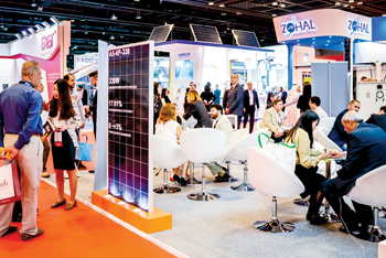 Solar will feature heavily in the upcoming Middle East Electricity 2019 in Dubai
