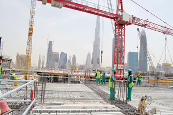Styro is working on several iconic projects in the UAE (Inset) Walid Wakim