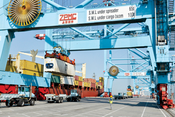 APM Terminals Bahrain has exclusive rights to manage all of Bahrain's container traffic