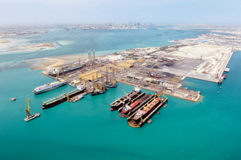 Asry's rig repair work is upgrading rig assets to Saudi Aramco's Schedule G standards