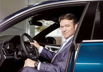 Schot: at the helm of Audi