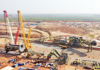 EGA is also developing a bauxite mine in the Republic of Guinea, West Africa