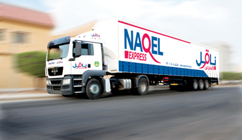 NAQEL Trailer used for Full Truckload (FTL) deliveries