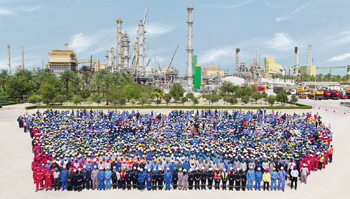 GPIC achieved a record 30 million working hours without any lost time accident, exceeding 6,070 days