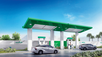 The hydrogen refuelling station is expected to be operational in the second quarter of 2019