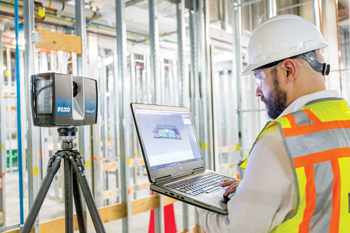 Quality control on-site with a FARO laser scanner and BuildIT Construction
