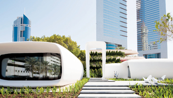 "The ""Office of the Future"" in Dubai, UAE: the most advanced 3D printed building in the world and als"