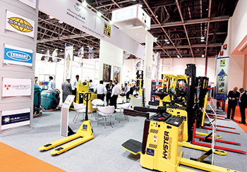 Materials Handling Middle East from September 3 to 5 in Dubai, UAE