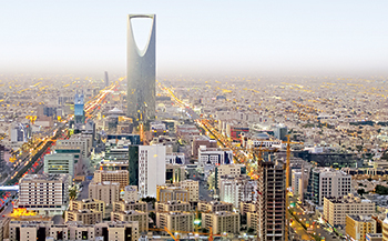 Riyadh: weaning itself away from reliance on oil export revenue