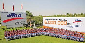 Alba achieves historical milestone of 6 million working hours without lost time imjury (LTI)