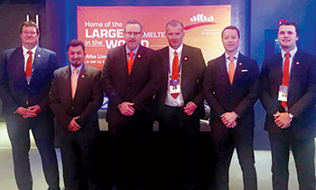 Alba team at the 12th Harbor Aluminium Outlook Summit in the US