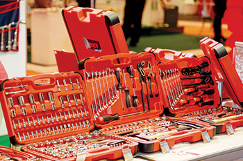 Prominent international brands were showcased at the recently held 20th edition of Hardware + Tools