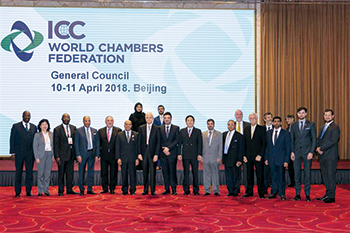 Delegation participating in the WCC 2019