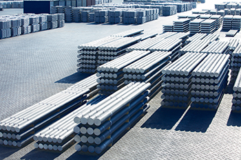 China was reported to be the world's top-producing aluminium country