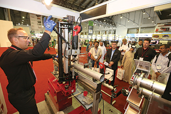 Every year SteelFab attracts largest companies in field of metal works