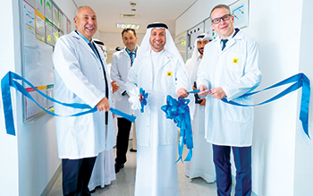 Officials at the inauguration of Airbus' service centre at Dafza