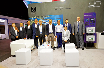 Al Masaood team at Wetex 2019