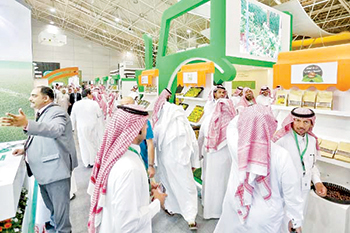 Saudi Agriculture 2019 was concurrently held with Saudi Aquaculture