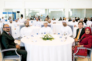 Officials attending the Oman Export Week, last month in Oman