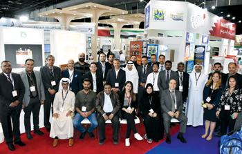 Bahrain team at the recently concluded Gulfood 2020