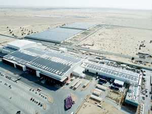 Mai Dubai's facility in Dubai: production in full swing