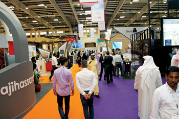 Gulf Construction Expo, Gulf Property Show,  and Interiors Expo from October 5 to 7, 2020 at BIECC,