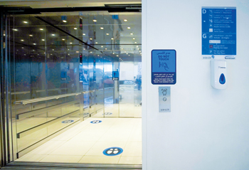 Touchless technology has been launched to enable a Covid-free airport environment