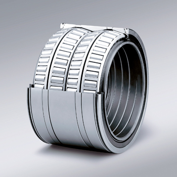 After using NSK's four-row tapered roller bearings, the steel mill has adopted this solution for all
