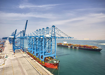 Khalifa Port Container Terminal on target to reach 5m TEU by year end