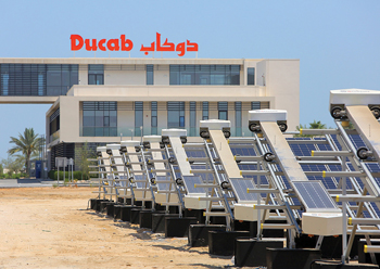 Ducab has laucnhed SolarBICC cables for the growing solar energy market