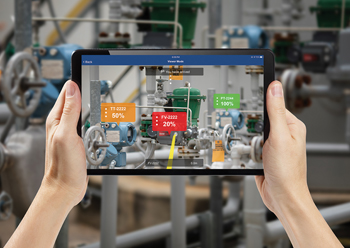 Field technicians can more quickly and safely locate assets with Plantweb Optics platform